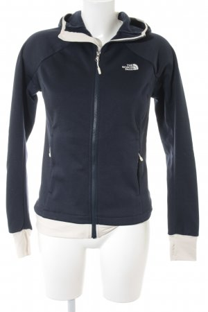 The North Face Sweatjacke dunkelblau-wollweiß sportlicher Stil