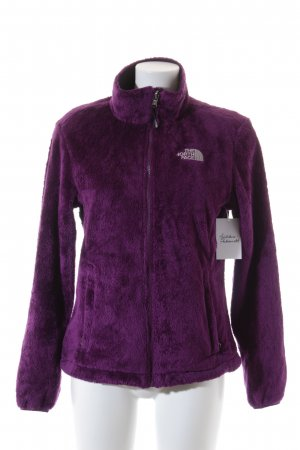 The North Face Sweatjacke lila Casual-Look