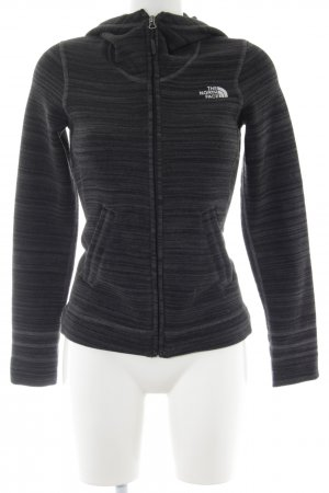 The North Face Sweat Jacket black-light grey flecked athletic style
