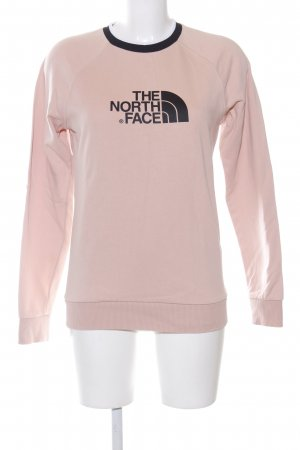 The North Face Sweatshirt pink-schwarz Casual-Look