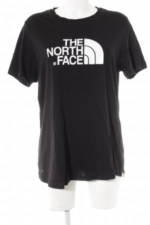 The North Face T-Shirt schwarz-weiß Casual-Look