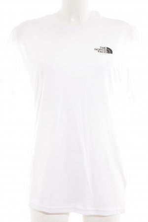The North Face T-Shirt weiß-schwarz Unisex-Artikel