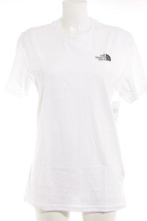 The North Face T-Shirt weiß sportlicher Stil