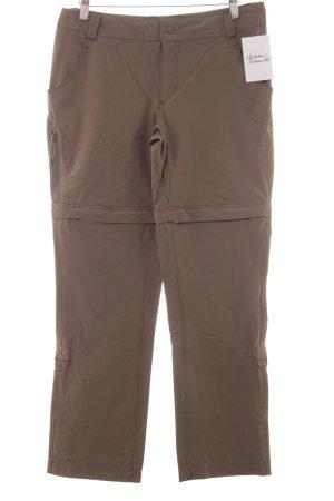 The North Face Pantalone termico marrone-grigio stile safari