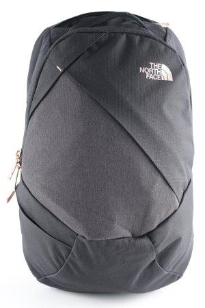 The North Face Trekking-Rucksack schwarz-roségoldfarben grafisches Muster