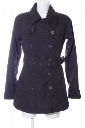 The North Face Trenchcoat blau Casual-Look