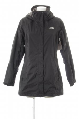 The North Face Windbreaker black simple style