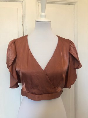 & other stories Cropped Top rose-gold-coloured