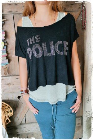 THE POLICE Shirt aus Ibiza