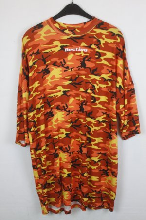The Ragged Priest T-shirt jurk veelkleurig Katoen