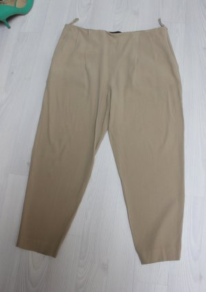 The row Pantalone a vita alta beige
