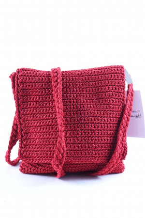 The Sak Crossbody bag dark red Boho look