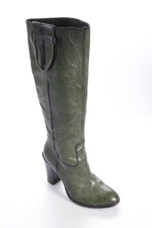 The Seller Stiefel dunkelgrün
