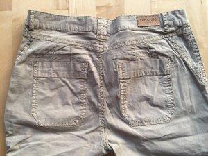 Pantalone cargo beige