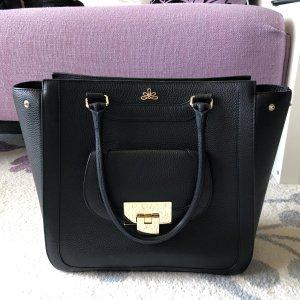 Shoulder Bag black leather