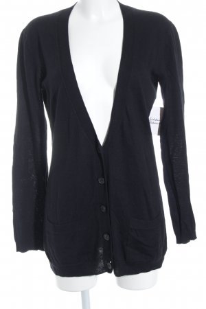 Theory Cardigan schwarz Casual-Look