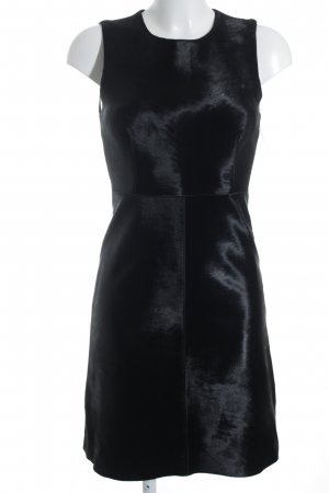Theory Robe fourreau noir imprimé animal