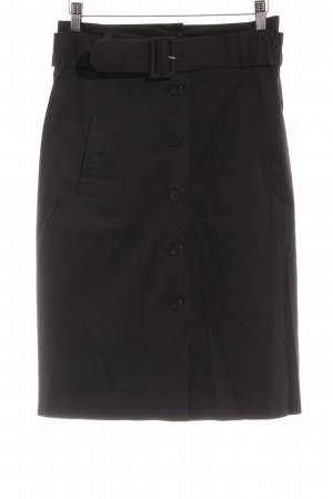 Theory High Waist Rock schwarz Business-Look