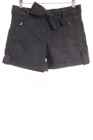 Theory High-Waist-Shorts schwarz Casual-Look