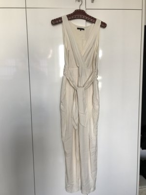 Theory Jumpsuit , overall seide Creme