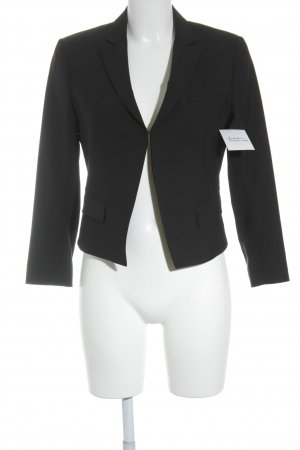 Theory Kurz-Blazer schwarz Business-Look