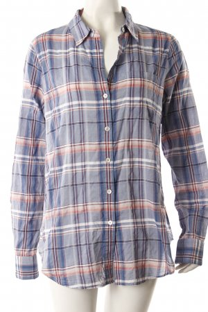 Theory sleeved shirt blue-red checkered