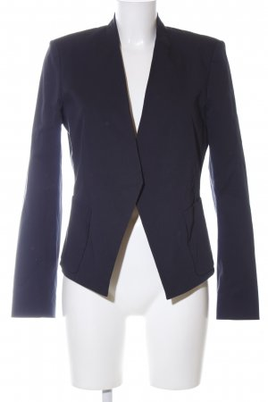 Theory Long-Blazer blau Business-Look
