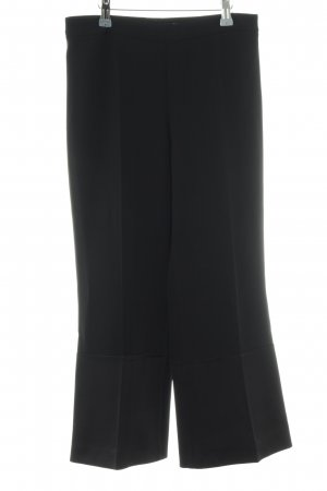 Theory Marlene Trousers black material mix look