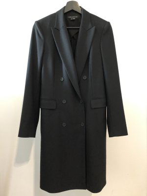 Theory Oversized Coat black wool