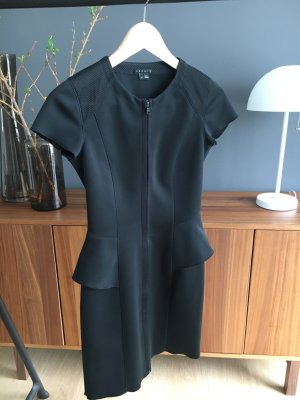 Theory peplum Neopren Dress Kleid XS 34 Designer