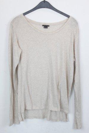 Theory Shirt Sweatshirt Gr. L hellbeige, hellbraun (18/4/193)
