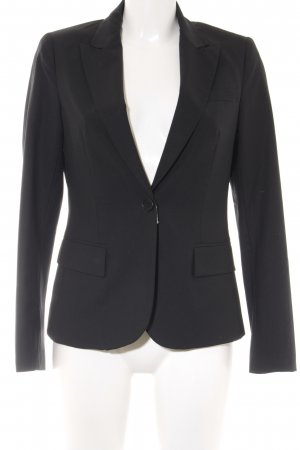 Theory Smoking-Blazer schwarz Business-Look