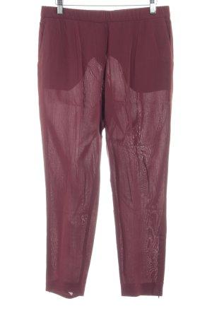 Theory Pantalone jersey carminio stile professionale