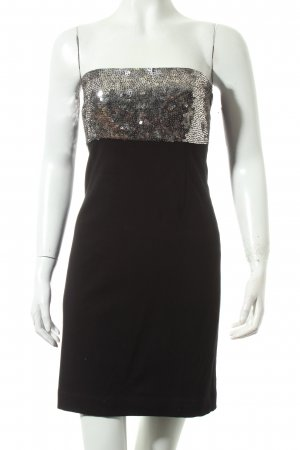 Theory Stretch Dress black-silver-colored party style
