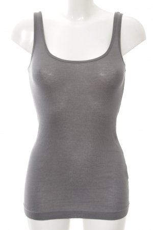 Theory Tanktop silberfarben Casual-Look