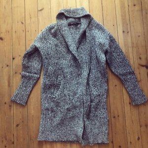 Theory Wolle Strick Mantel Cardigan Luxus Strickjacke Cosy Winter Mantel