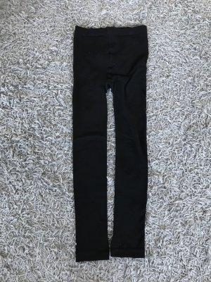 H&M Pantalon thermique noir