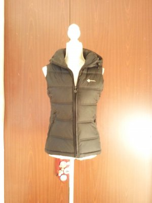 Hooded Vest black polyester