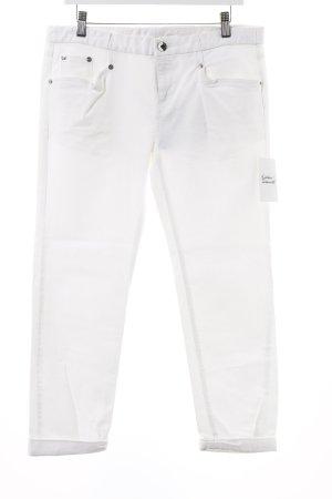 Theyskens' Theory Boot Cut Jeans weiß klassischer Stil