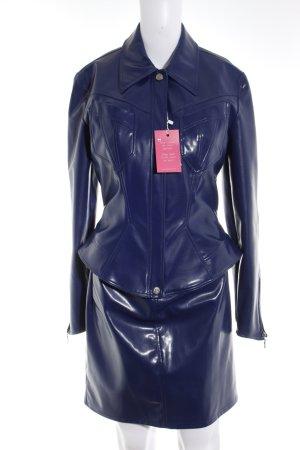 Thierry Mugler Tailleur violet foncé-violet style extravagant