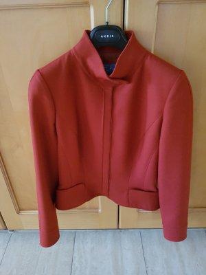 Thierry Mugler Blazer en laine rouge fluo laine