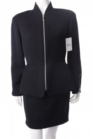 Thierry Mugler Kostüm schwarz klassischer Stil