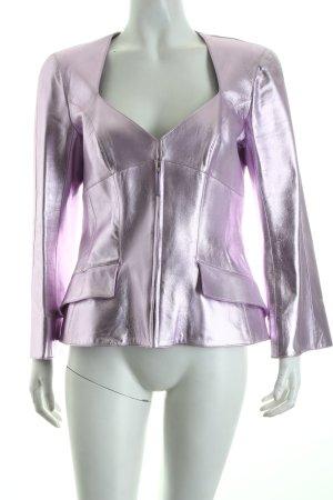 Thierry Mugler Kurz-Blazer rosa extravaganter Stil