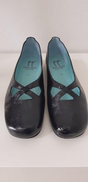 thierry rabotin Strappy Ballerinas black leather