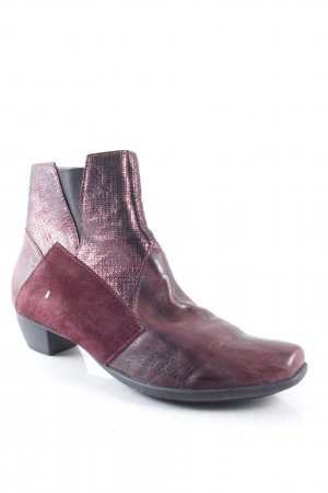 Think! Booties braunviolett extravaganter Stil