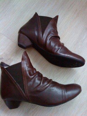 Think * Damen - Stiefelette * Boots * Leder * Gr. 41 * 1x getragen * braun
