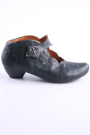 Think! Mary Jane Halbschuhe dunkelgrün Street-Fashion-Look