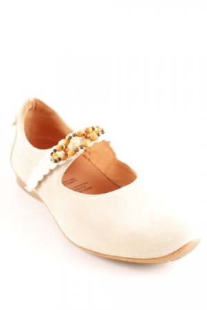 Think! Riemchen Ballerinas hellbeige Street-Fashion-Look