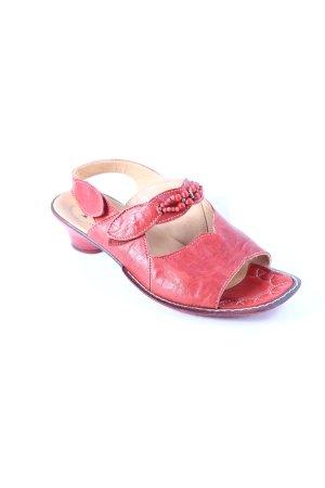 Think! Sandalen dunkelrot extravaganter Stil