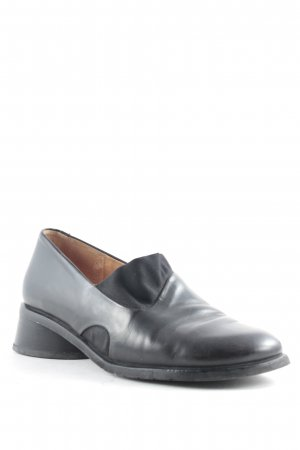 Think! Zapatos sin cordones negro look casual